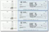 Various Checks and Banking Supplies, Check Envelopes,Continous ...