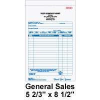 sales order books