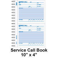 Work Order Forms,Carbonless Side-Stub,Padded Material and Labor ...